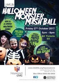 monster mash halloween link4life rochdale boroughwide cultural trust halloween