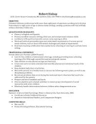 Resume For Nanny Job by Nanny Job Responsibilities Resume Free Resume Example And
