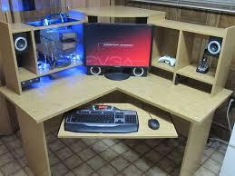 best custom desk design ideas cool computer desks simple cool