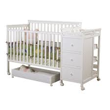 Convertible Crib Changer Combo by Sweet Dreams Hayden 4 In 1 Crib Changer Combo In White