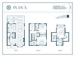 bishop vancouver craftsman townhomes in kerrisdale floor plans