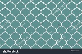 seamless cyan white wide moroccan pattern stock vector 618775397