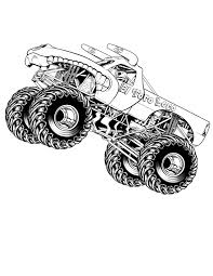 grave digger monster truck song bigfoot monster truck coloring pages craftey creations