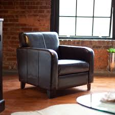 Costco Living Room Brown Leather Chairs Chair Garbo Club Chair City Collection Furniture Rec Club Chair