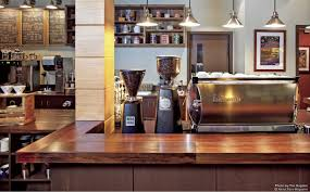 catchy coffee shop design trends small room with office decorating