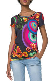 Desigual Home Decor by Desigual Mayte T Shirt From Hawaii By Hurricane Limited U2014 Shoptiques