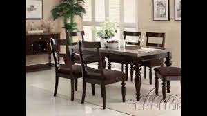Acme Furniture Dining Room Set Acme Furniture Dining Table Youtube