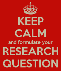What makes a good research question  JEPS Bulletin   EFPSA