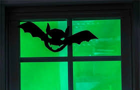 how to make simple halloween window silhouettes redfin