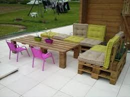 Patio Furniture Wood Pallets - pallet outdoor furniture aluminum all home decorations