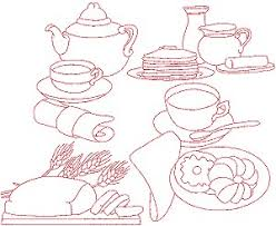 Free Kitchen Embroidery Designs by Advanced Embroidery Designs Kitchen Redwork Set