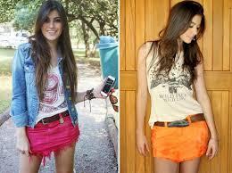 Como usar a nova tendência saia jeans de bico