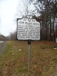where john wilkes booth died the garrett farm abandoned country