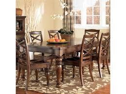 ashley furniture porter house rectangular extension dining table