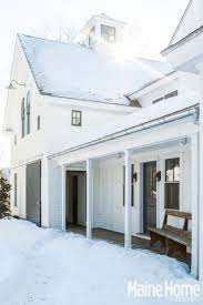 Modern Home Design New England A Classic White New England Farmhouse In Maine Design Magazine
