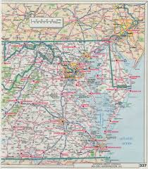Map Of West Virginia Counties Road Map Of Maryland And Virginia Virginia Map