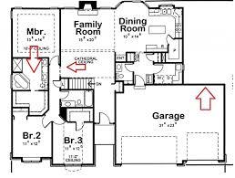 type modern four bedroom house plans modern house design idea