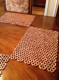 creative idea round sliced tree trunk wood placemats 12 asian