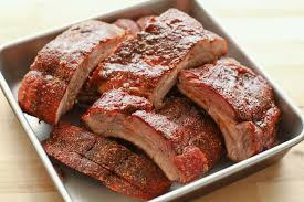 memphis style dry ribs on the grill or in the oven