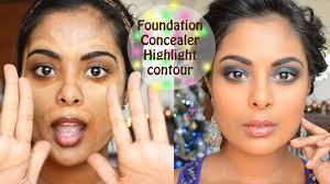 camera ready foundation concealer contouring color correction tutorial you