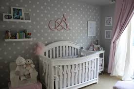 alexis u0027 pink and grey nursery nursery gray and walls