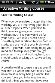 Creative Writing   Android Apps on Google Play Creative Writing  screenshot