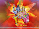 Wallpapers Backgrounds - Wallpapers Shiv Shankar Parivar 1024x768