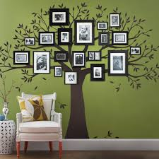 Tree Decal For Nursery Wall by Family Tree Wall Decal Tree Wall Decal For Picture Frames