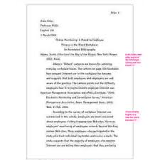 SAMPLE ANNOTATED BIBLIOGRAPHY ENTRY FOR A JOURNAL ARTICLE