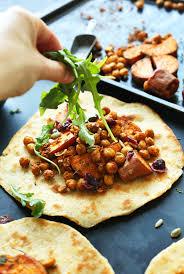 alternative thanksgiving dinner vegan thanksgiving wraps minimalist baker recipes