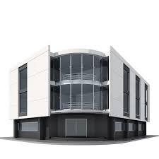 House 3d Model Free Download by 3d Model Corner Building Cgtrader