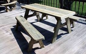 Building Plans For Picnic Table Bench by Table Miraculous Picnic Table Building Kit Infatuate Picnic