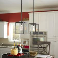 kitchen pendant lighting lowes shop allen roth bristow 6 5 in w oil rubbed bronze standard