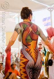 Master Body Painting Art