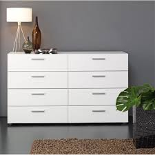 White Bedroom Furniture Grey Walls Furniture White Dresser With Standing Lamp And Grey Wall Design