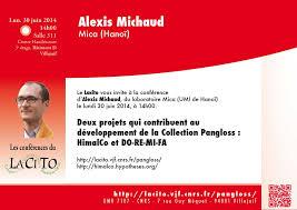 Actualit   de la recherche au Lacito et sur le campus de Villejuif Lacito   CNRS