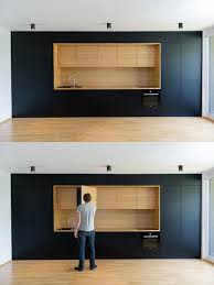black and wood as used here are entirely minimalist with every