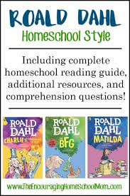 roald dahl homeschool style including complete homeschool