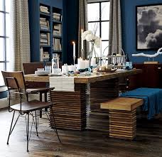 Metal Dining Room Chair Industrialize Your Dining Room With Metal Dining Chairs
