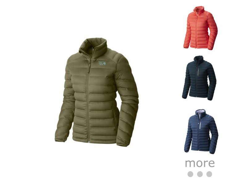 Mountain Hardwear StretchDown Jacket Arctic Circle Blue S 1756291449-S