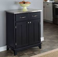 furniture shabby chic black large kitchen buffet with hutch