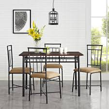 Dining Room Table Pictures Mainstays 5 Piece Dining Set Multiple Colors Walmart Com