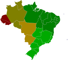 Time Zone Map Usa With Cities by Time In Brazil Wikipedia