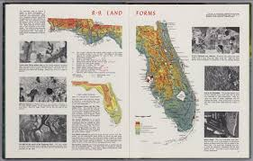 Map Of Lakeland Florida by Florida U0027s Land Forms David Rumsey Historical Map Collection