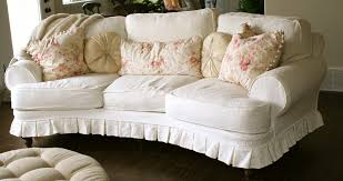 Floral Couches Beautiful Modern Curved Sofa With Soft Couch Design In White