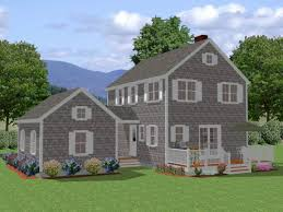 French Style Floor Plans French Colonial Style New England Colonial Style House Plans Lrg