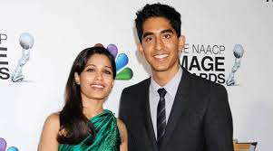 Freida Pinto  Dev Patel reunite for charity   The Indian Express The Indian Express