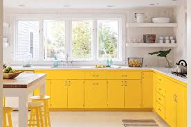 How To Paint Kitchen Cabinets Like A Pro Painted Kitchen Cabinet Ideas Freshome