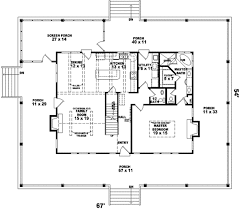 chic and creative one story house plans for pie shaped lots 7