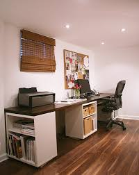 Desk With File Cabinet Ikea by 20 Diy Desks That Really Work For Your Home Office Desks Ikea